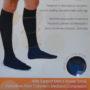 Calcetín Compresión Moderada Negro